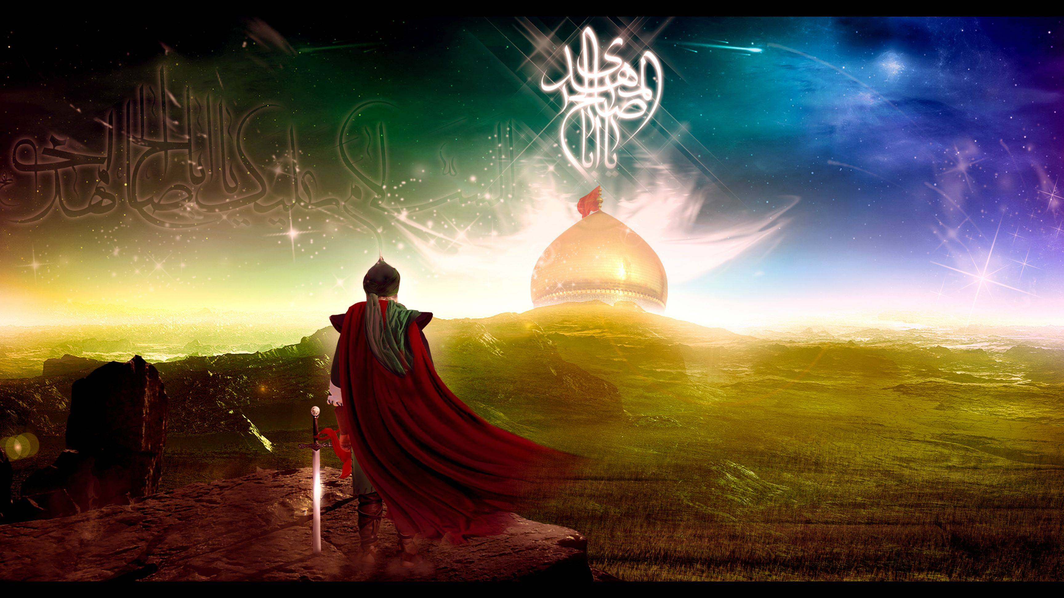 48 shia wallpapers on wallpapersafari - Imam wallpaper ...