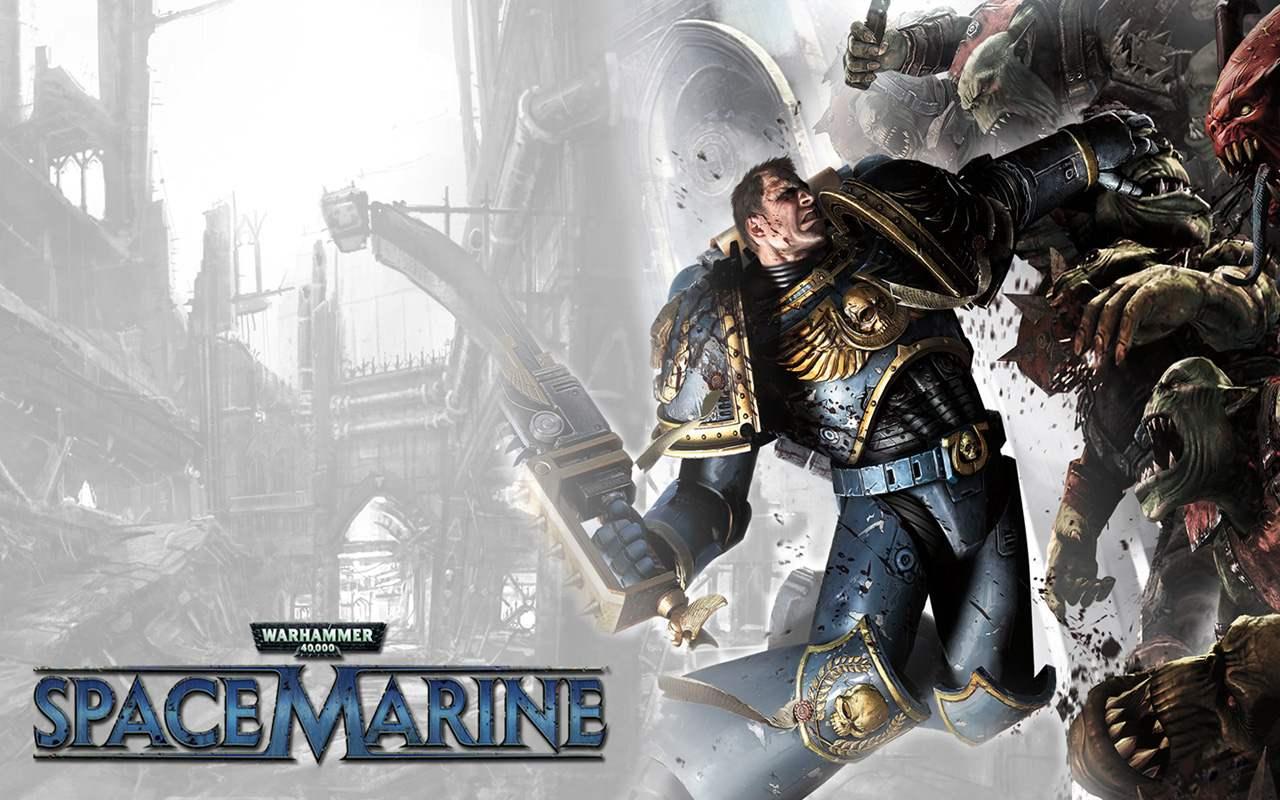 Dawn Of War 1920x1080: Warhammer 40k Space Marine Wallpaper