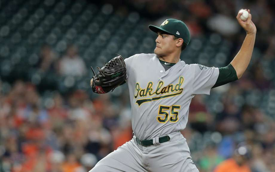 Sean Manaea latest As starter to be scratched with aches and 920x574