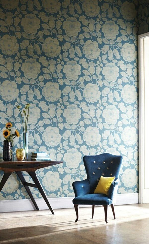 Flower Power Bold Graphic Florals in Home Dcor 600x984