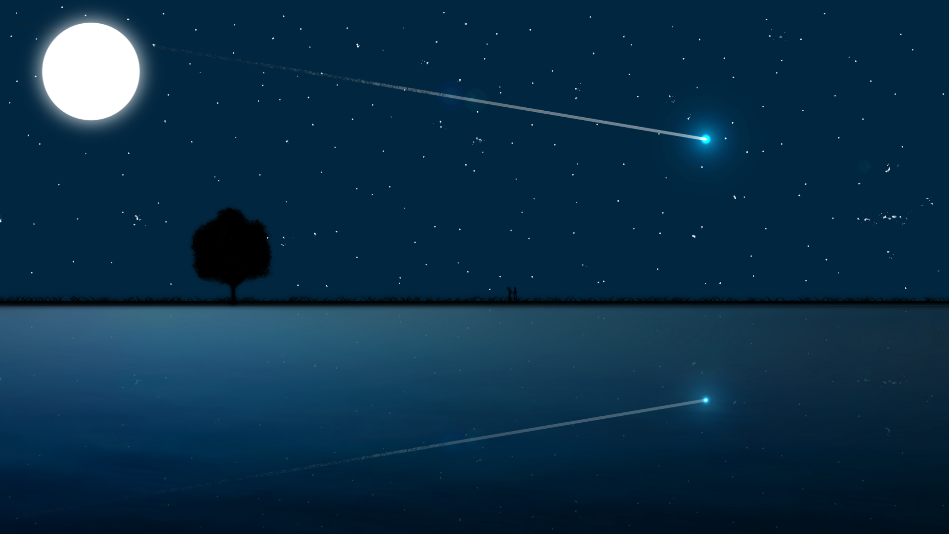 Starry Sky Simplistic Computer Wallpapers Desktop 1920x1080
