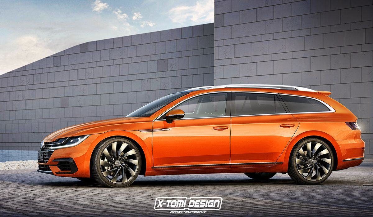 Its Official A VW Arteon Shooting Brake Is Happening And It 1200x700