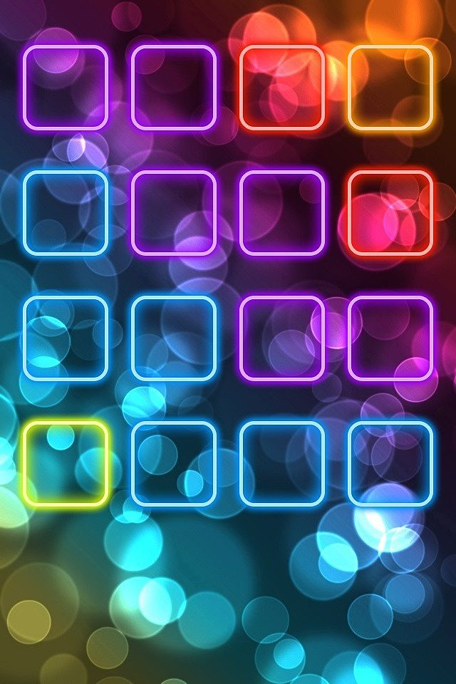 Cool Neon Wallpapers for iPhone 640x960