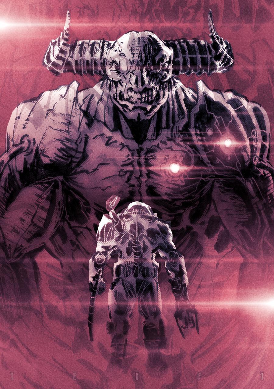 SLAYER VS TYRANT Doom 900x1274