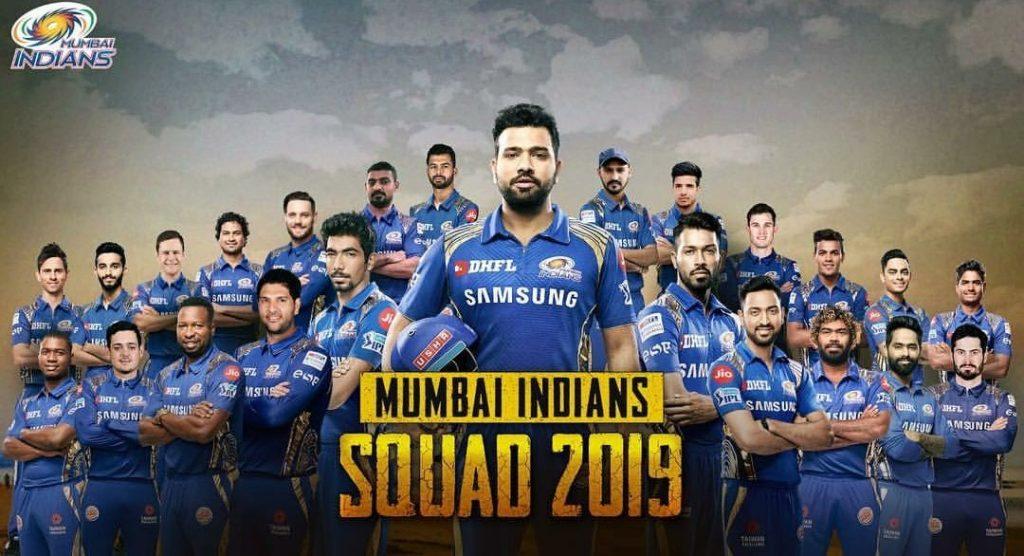 Mumbai Indians team IPL 2019 1024x556