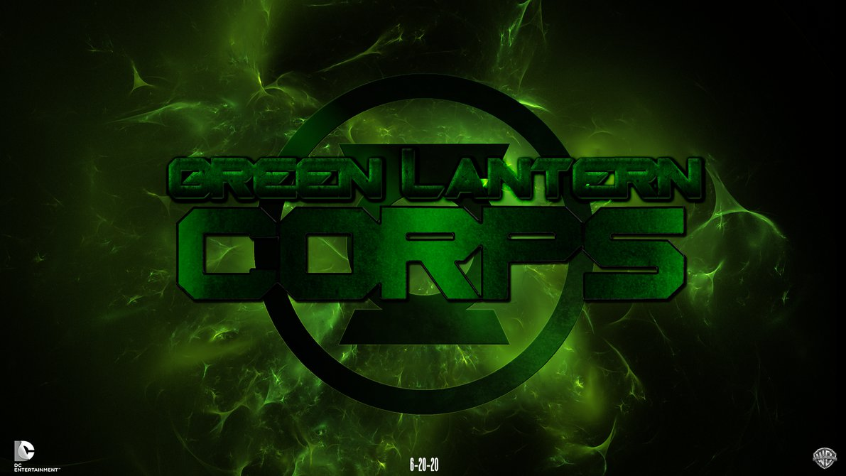 Green Lantern Corps fandmade movie wallpaper by chronoxiong on 1191x670