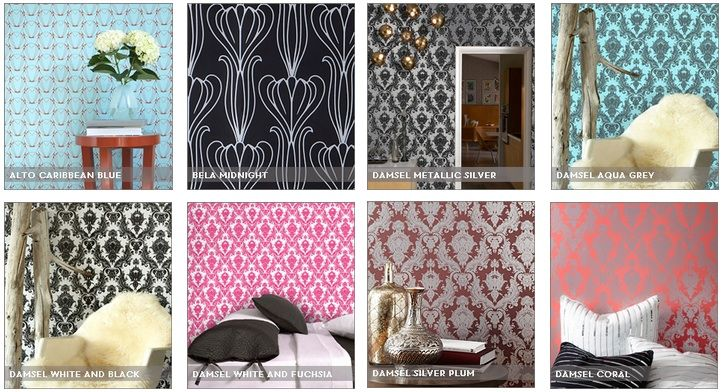 Tempaper   Peel and Stick Wallpaper Wallpapers Sticks and Paintings 724x392
