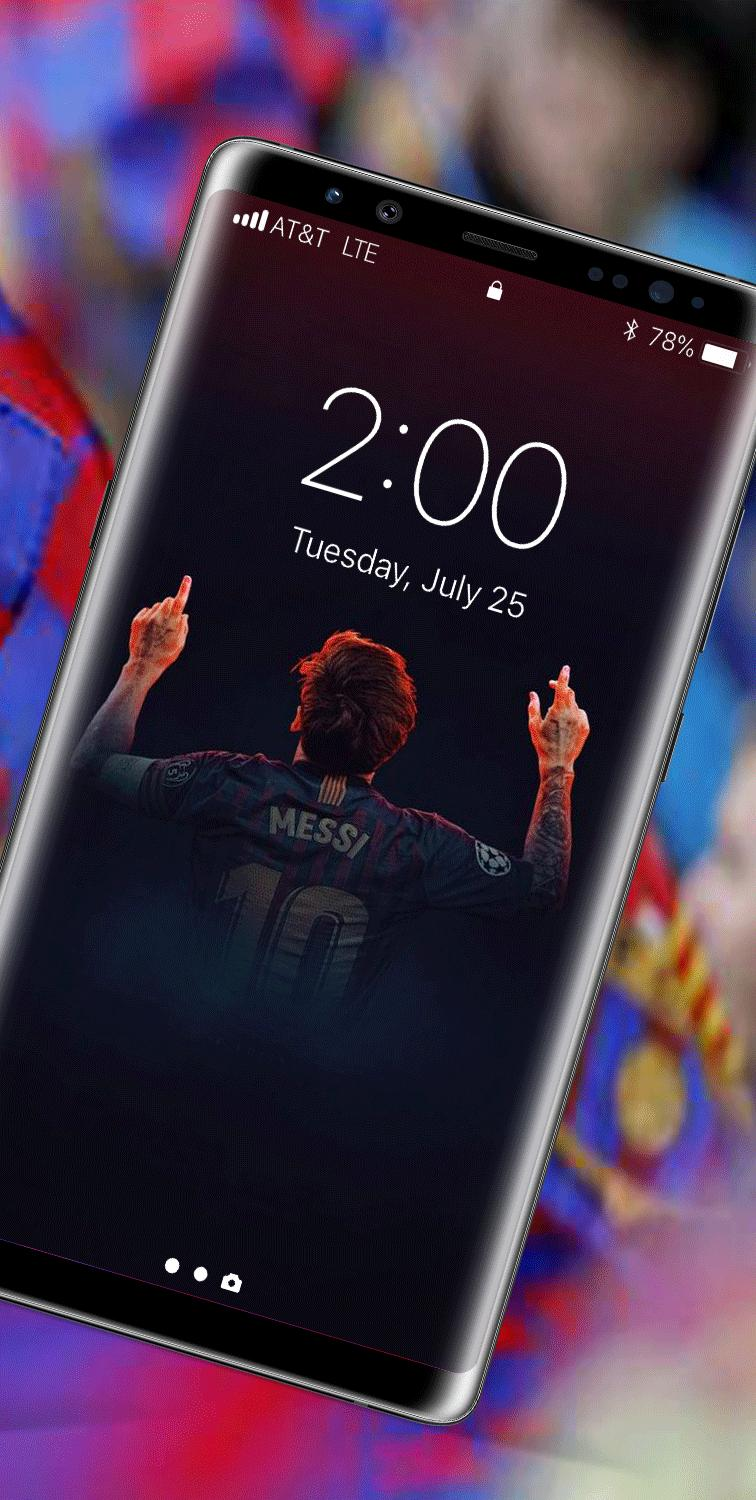 Messi Wallpapers 2020 4K Lionel Messi Lockscreen for Android 756x1500