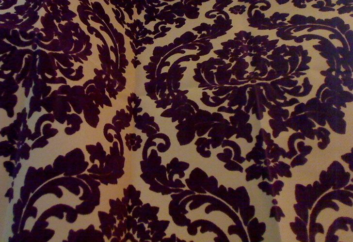 wallcoverings wallpapers walls flock velvet wallpaper burgundy flock 728x499