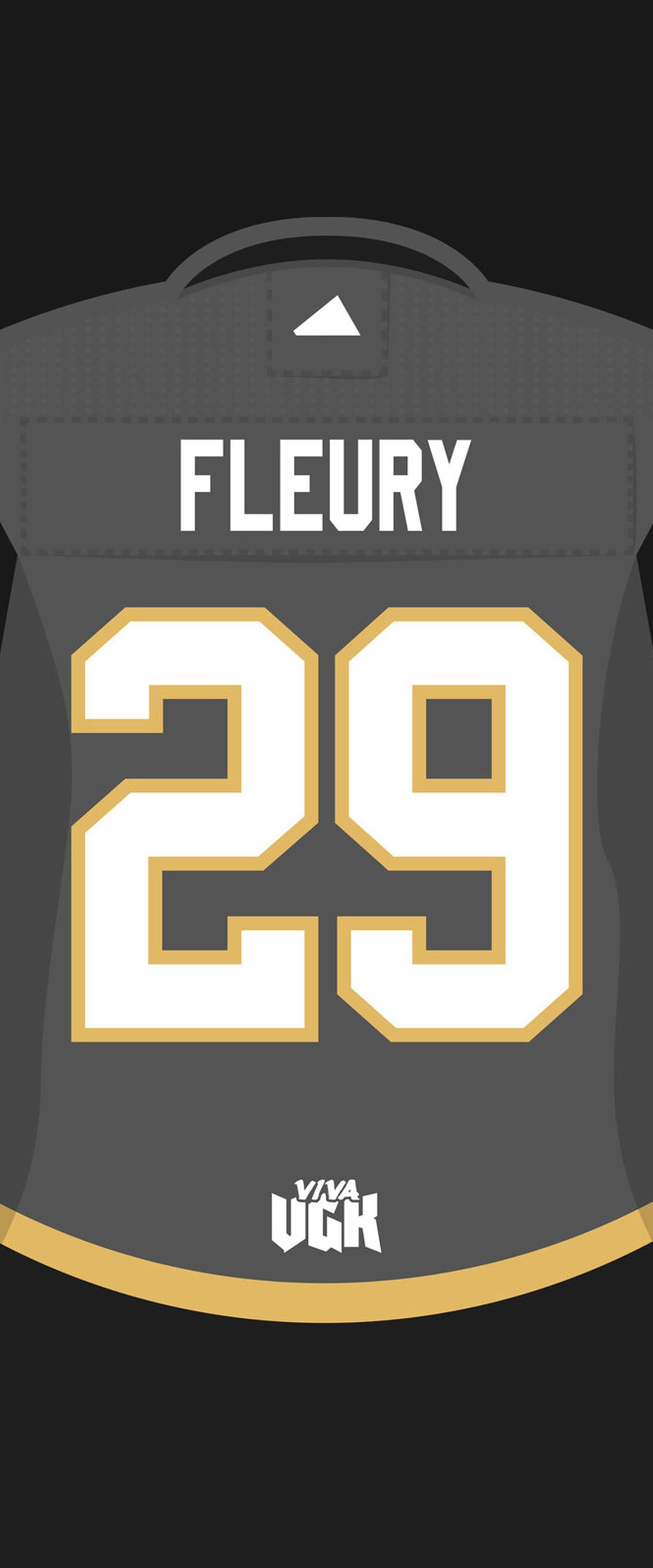 Fleury Jersey Iphone X Wallpaper By VIVA VGK goldenknights 1127x2706