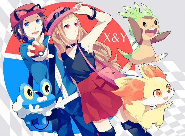 Pokemon X and Y Wallpaper 2 by IzayaOrihara1996 600x440
