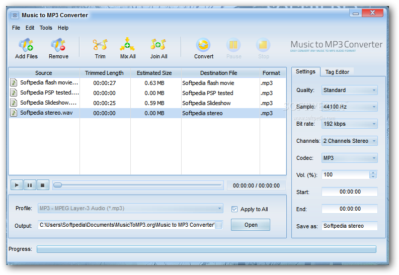 to MP3 Converter   Music to MP3 Converter will enable you to convert 793x547