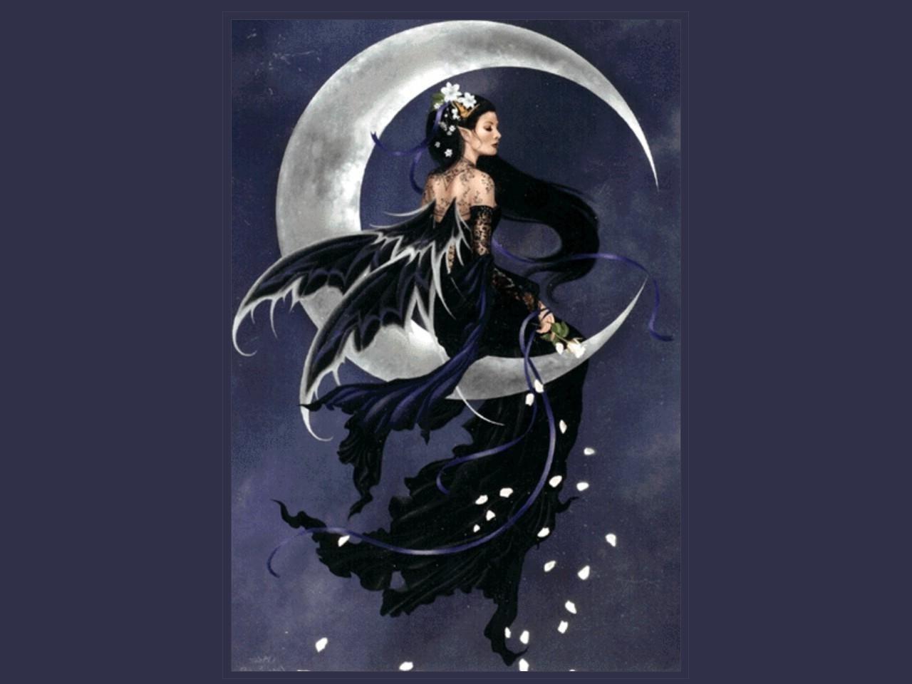 74 Dark Fairies Wallpaper On Wallpapersafari