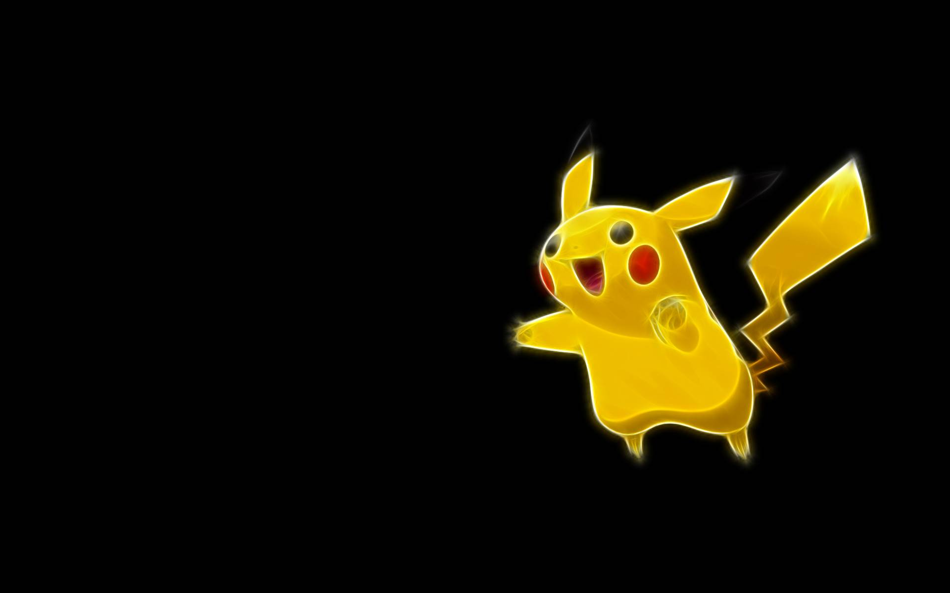 Pokemon Black Pikachu 1920x1200