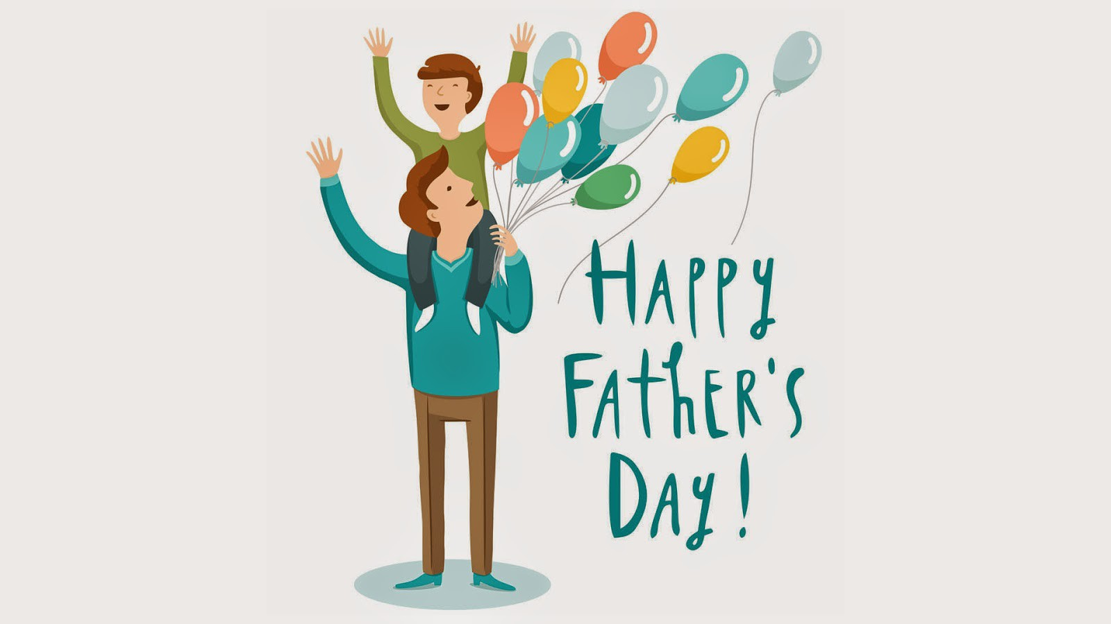 Happy Fathers Day Wallpapers download 1600x900