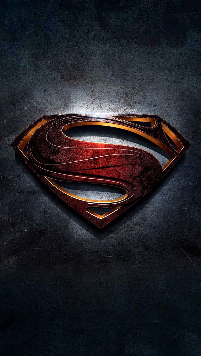 Superman iPhone 5 wallpaper iPhone 5 iOS 7 Wallpapers Pinterest 640x1136