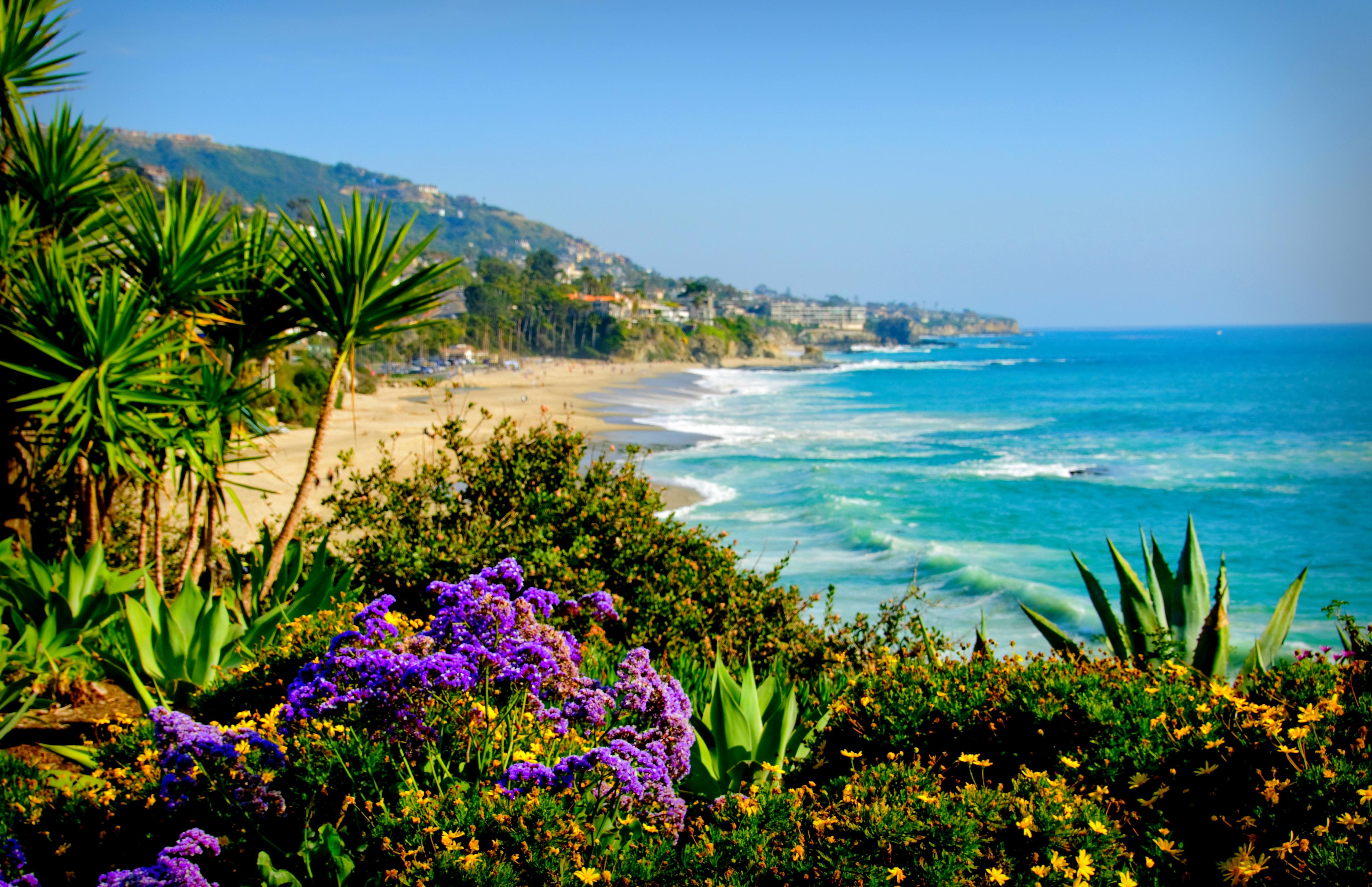 California Beach Wallpaper 3790x2451
