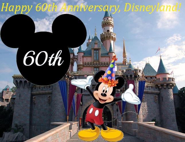 Happy 60th Anniversary Disneyland by Legodecalsmaker961 645x495