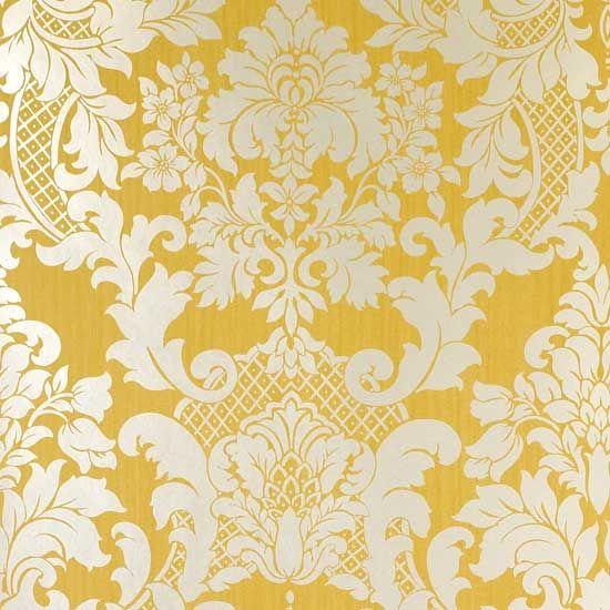 Yellow Paisley Wallpaper Wallpapersafari