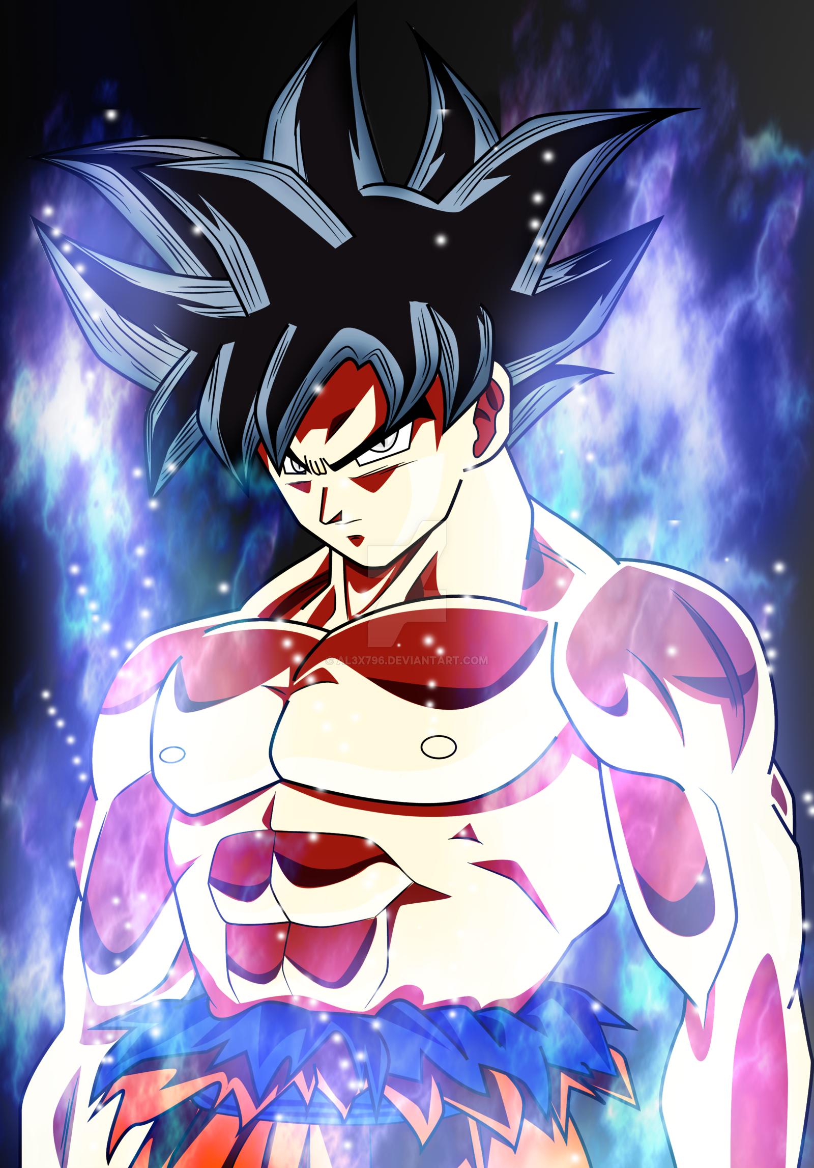 Dbs Ultra Instinct Goku Wallpaper   WallsKid 1600x2294