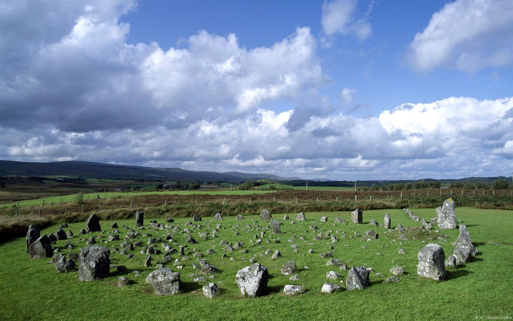 Beaghmore Stone Circles Northern Ireland wallpaper 1680x1050 1680x1050