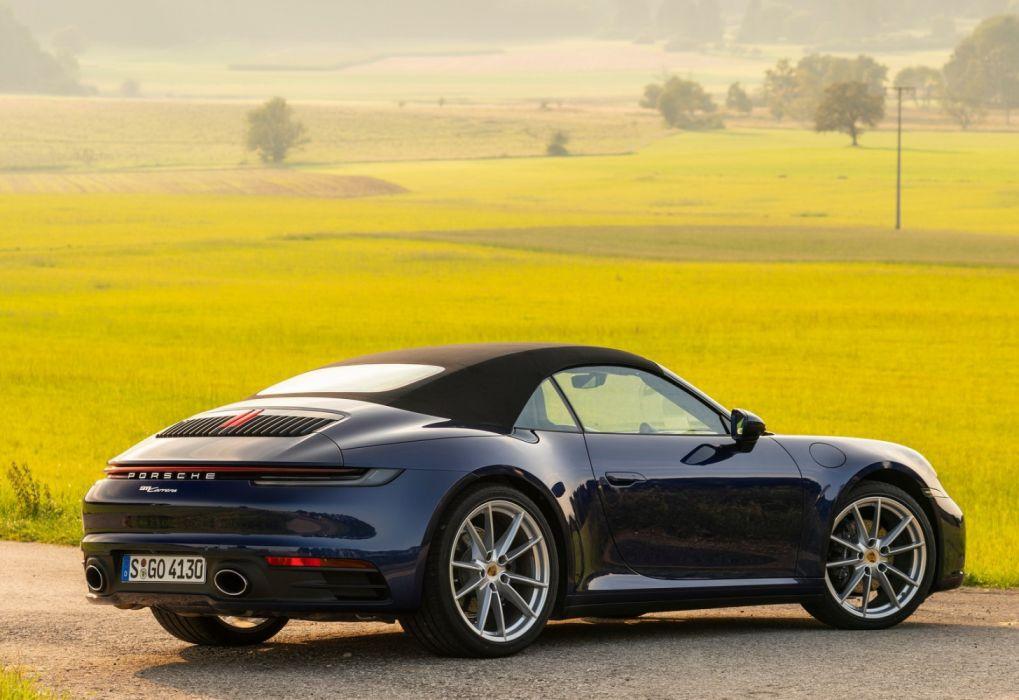 Porsche 911 Carrera Cabriolet 2020 wallpaper 1600x1100 1019x700