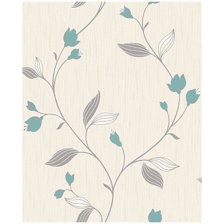Home DIY Wallpaper Wallpaper Clearance Fine Decor Charlotte Teal 780x780
