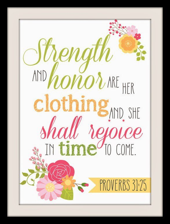 Bible Verse Printable and iPhone Wallpaper Proverbs 3125 587x770