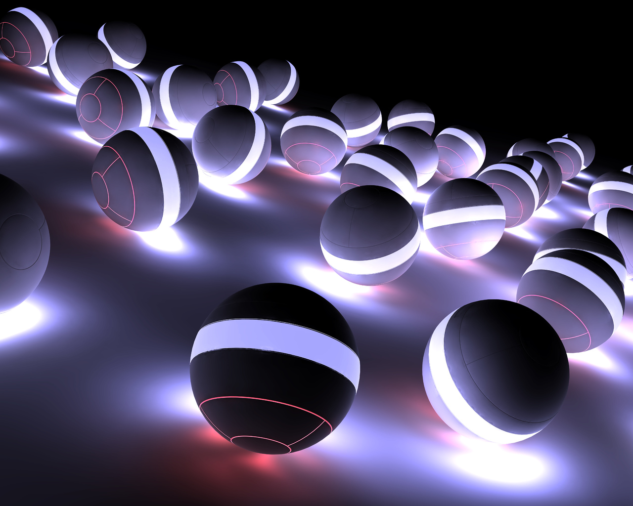 3D Abstract Wallpapers 1280x1024