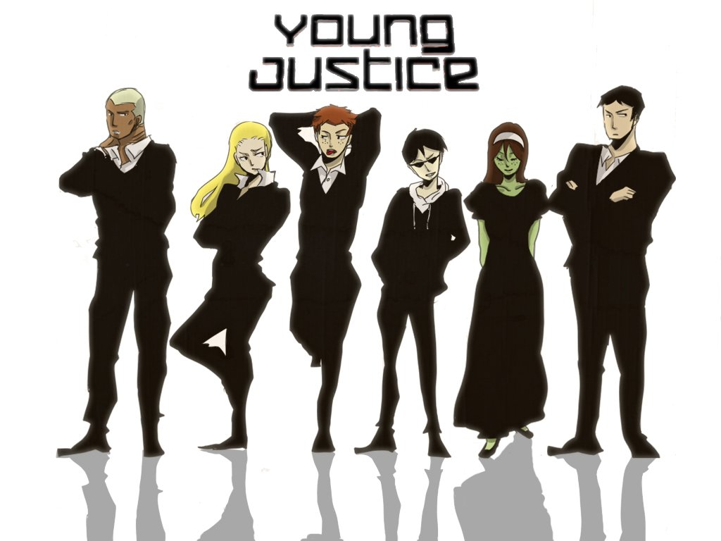 YOUNG JUSTICE 1024x768