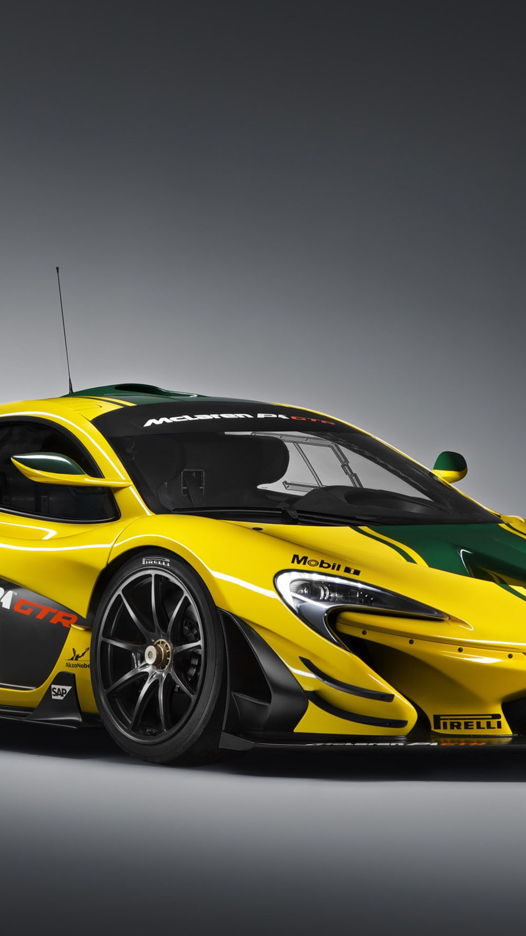 McLaren P1 GTR Limited Edition iPhone 6 and 6 Plus HD Wallpapers 1080x1920