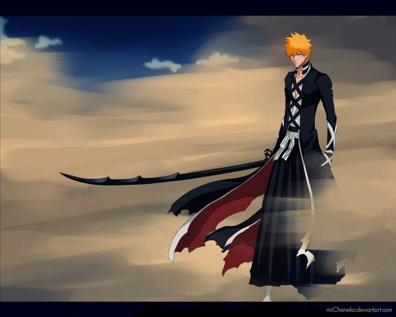 Bankai Ichigo New Anime Bleach HD Desktop Wallpaper 800x640