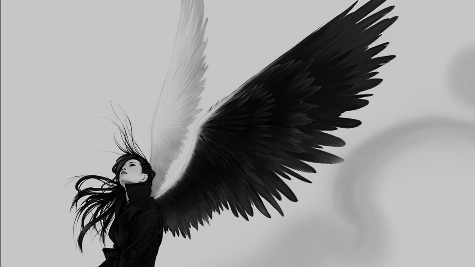 Angel 3D Abstract Angel Fantasy Wings 2536 Hd Wallpapers 1600x900