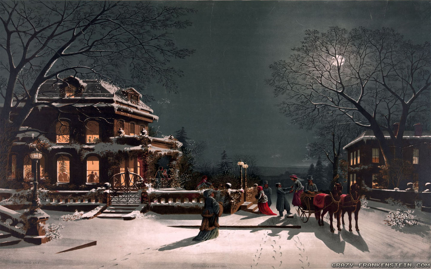 [49+] Country Christmas Wallpaper Widescreen On
