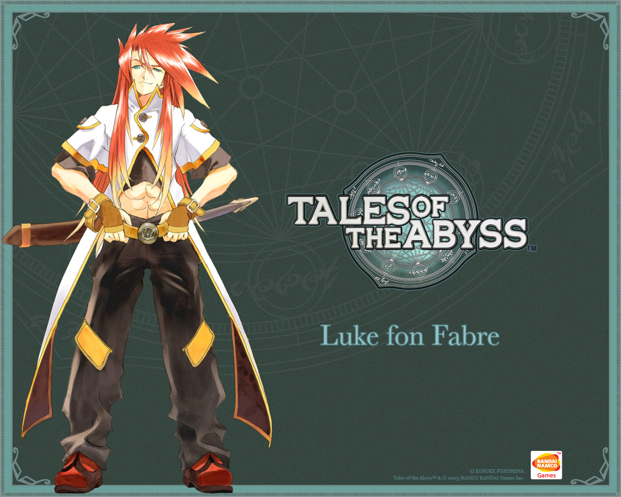 Luke  Tales of the Abyss Wallpaper Gallery   Best Game Wallpapers 1280x1024