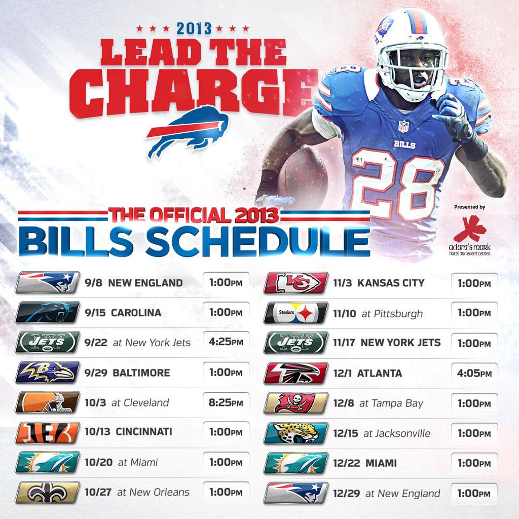 photo regarding Buffalo Bills Printable Schedule identify buffalo-nfl-agenda
