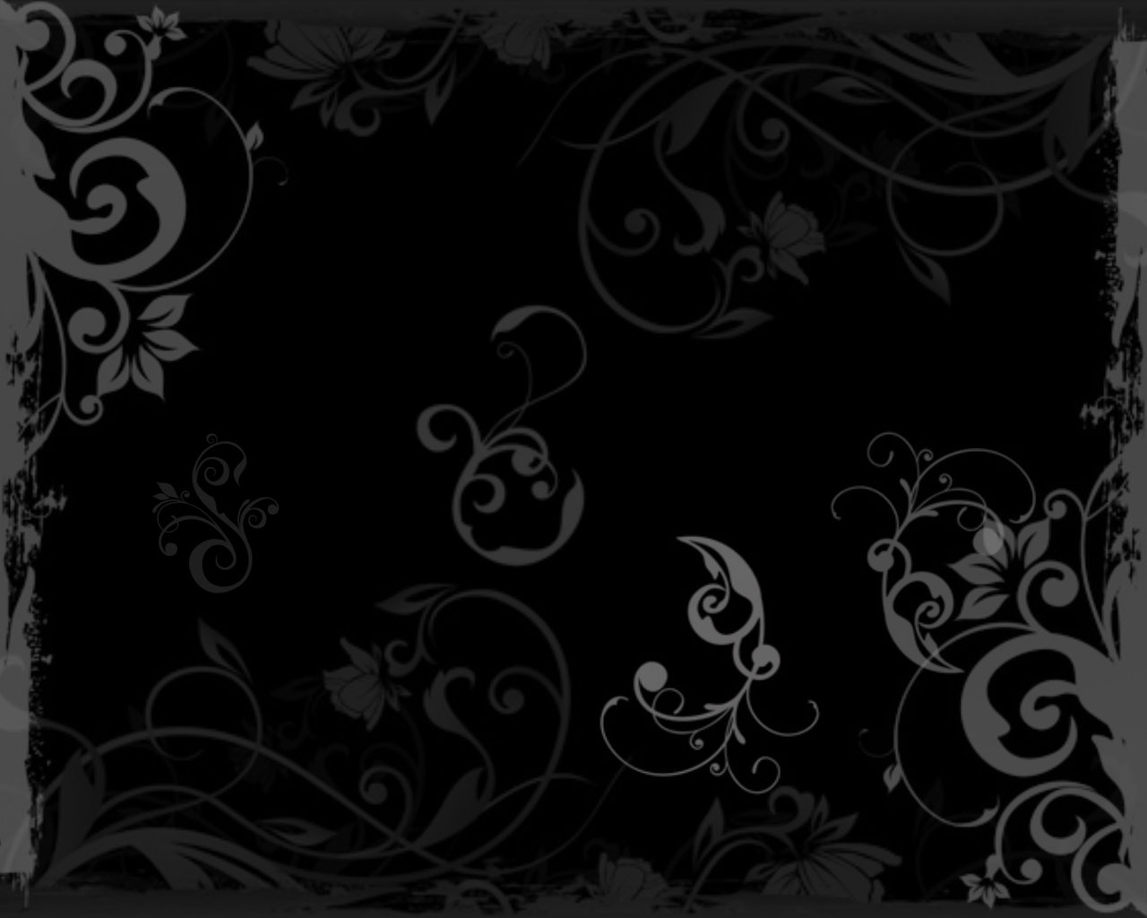 Black Wallpaper Cool Backgrounds Black 1280x1024