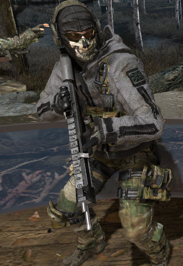 MW2 Ghost by TFFireFly on DeviantArt