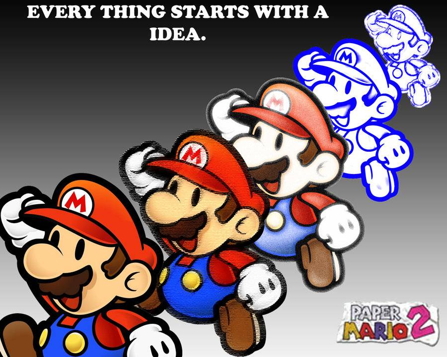 Free download paper mario wallpaper All Paper Mario 64 Picture