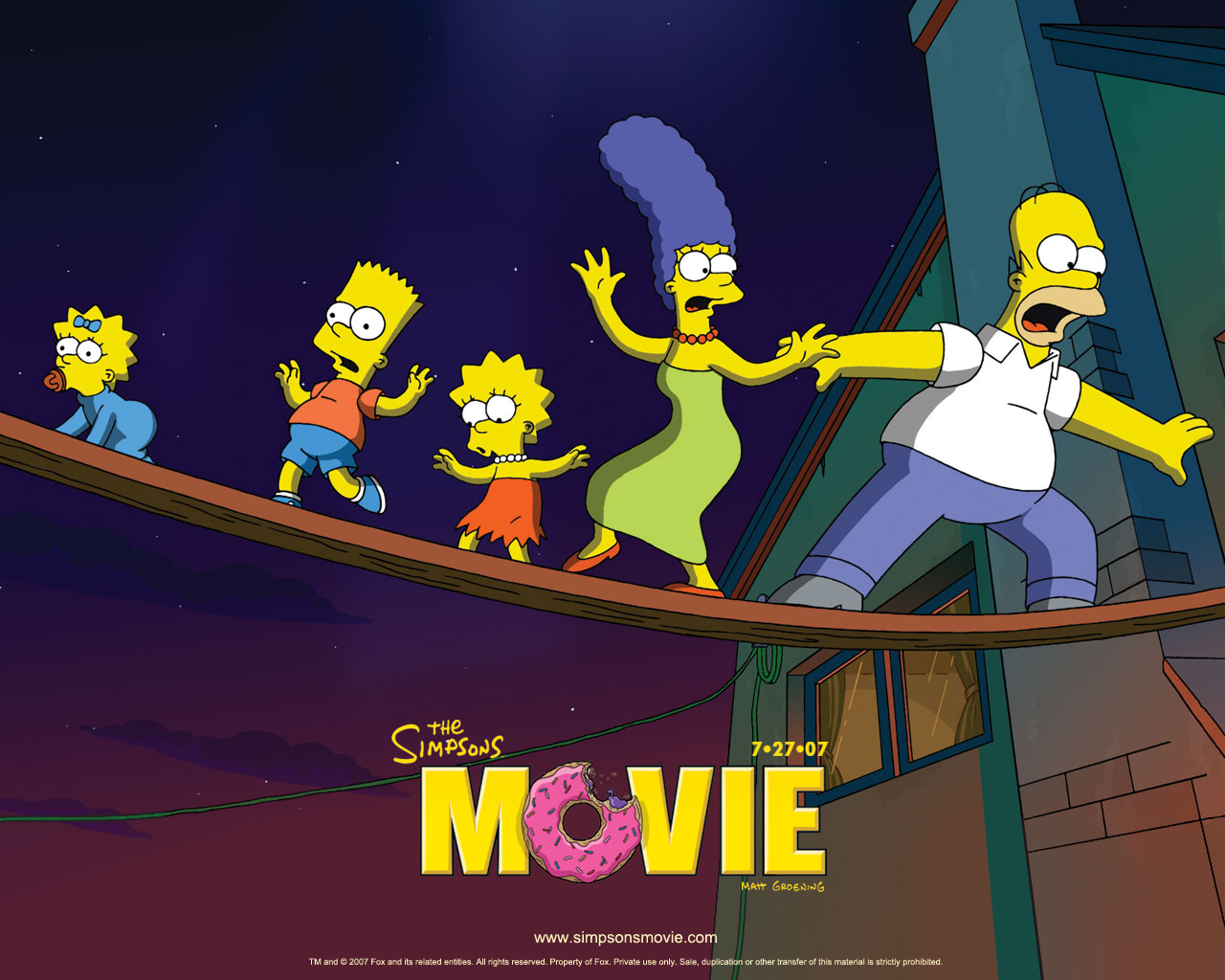 Free Download The Simpsons Movie Can Be Purchased On Both Dvd And Blu Ray At Amazon 1280x1024 For Your Desktop Mobile Tablet Explore 73 Simpsons Movie Wallpaper Crazy Wallpapers