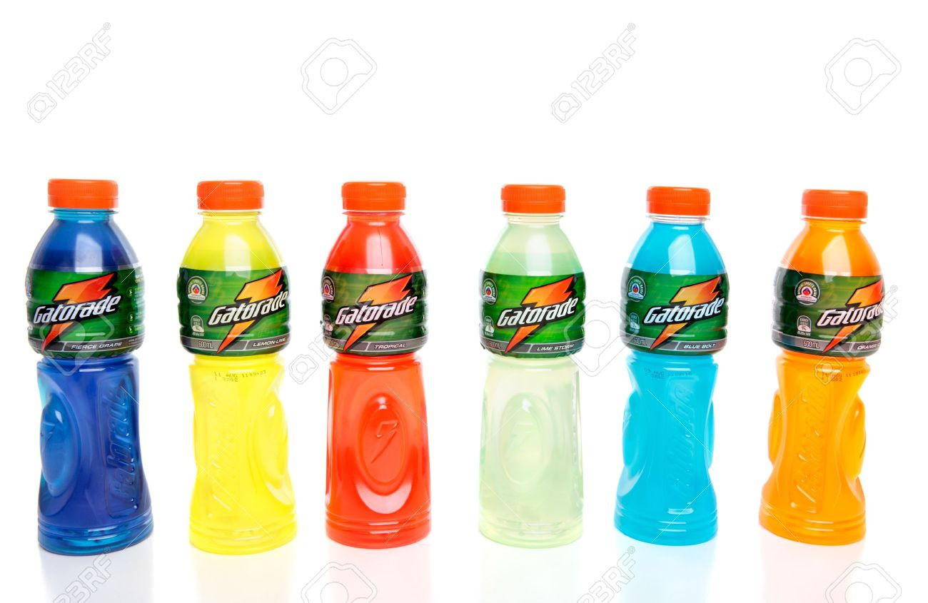 Bottles Of Gatorade Manufactured By Schweppes Contains 1300x845