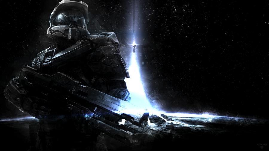 Halo Wallpaper 1080p Halo 4 wallpaper by foehngfx 900x506