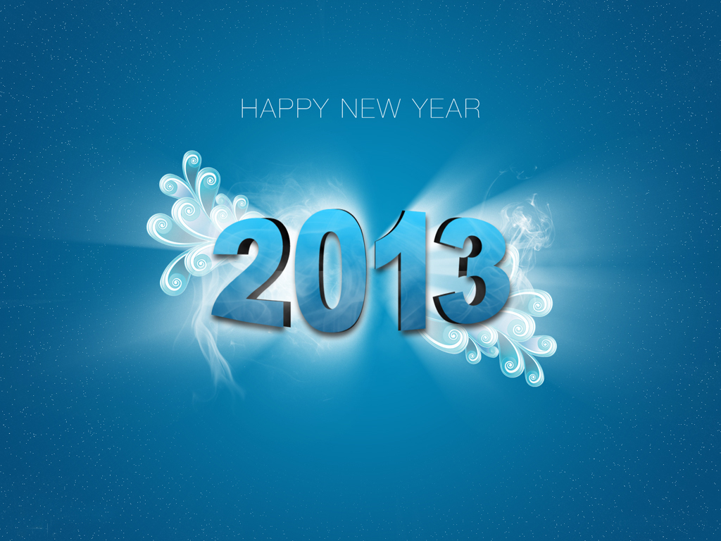 Download Happy New Year 2013 PowerPoint Backgrounds   PPT Garden 1024x768
