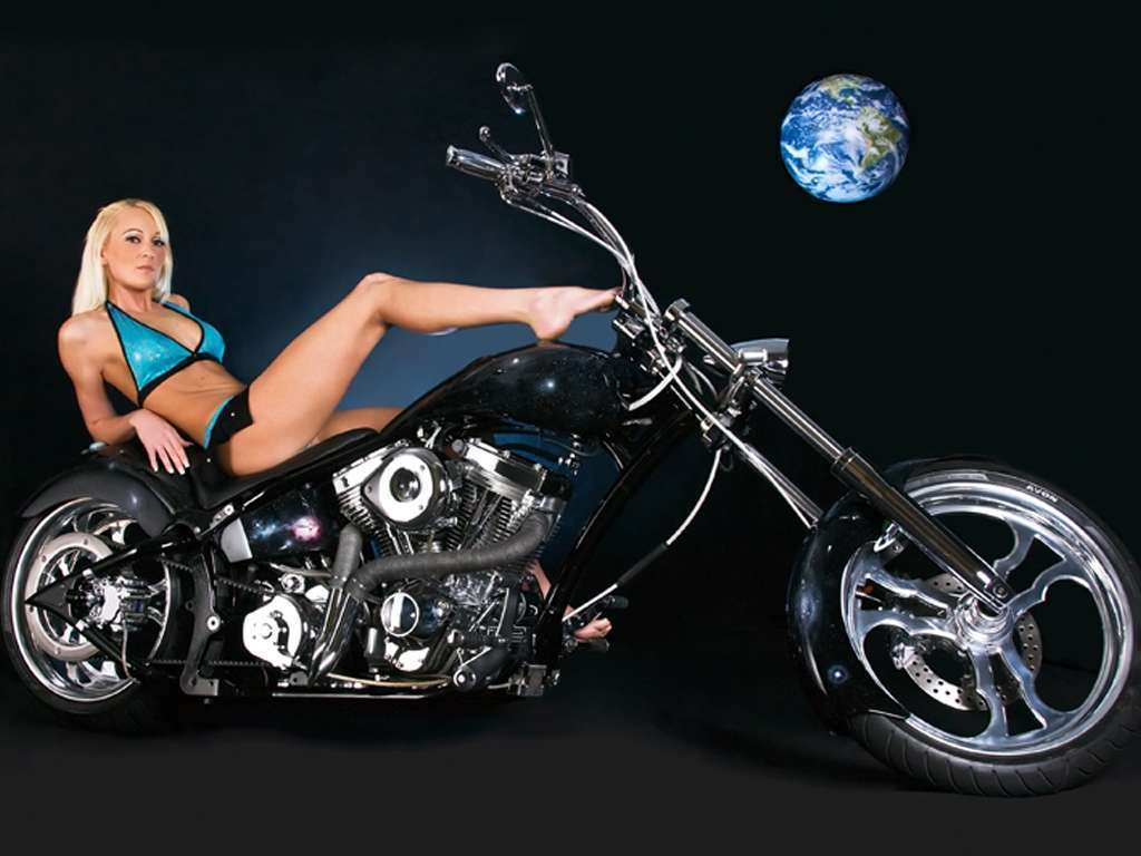 biker chicks are easy 2