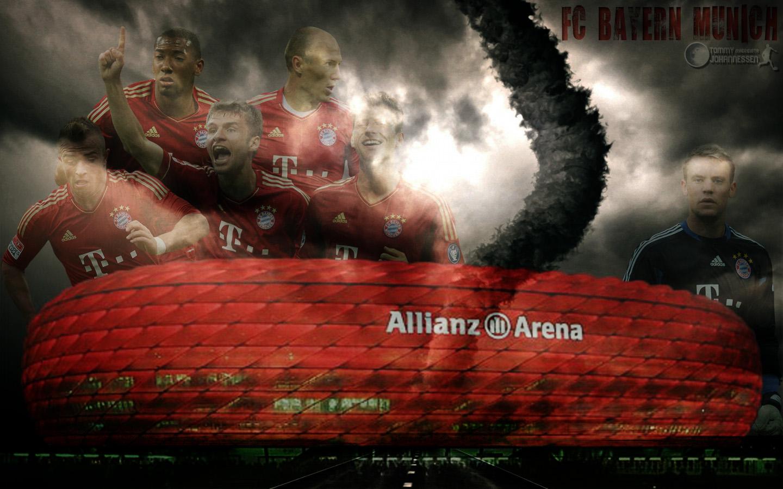 Fc Bayern Munich Wallpaper High Resolution: WallpaperSafari