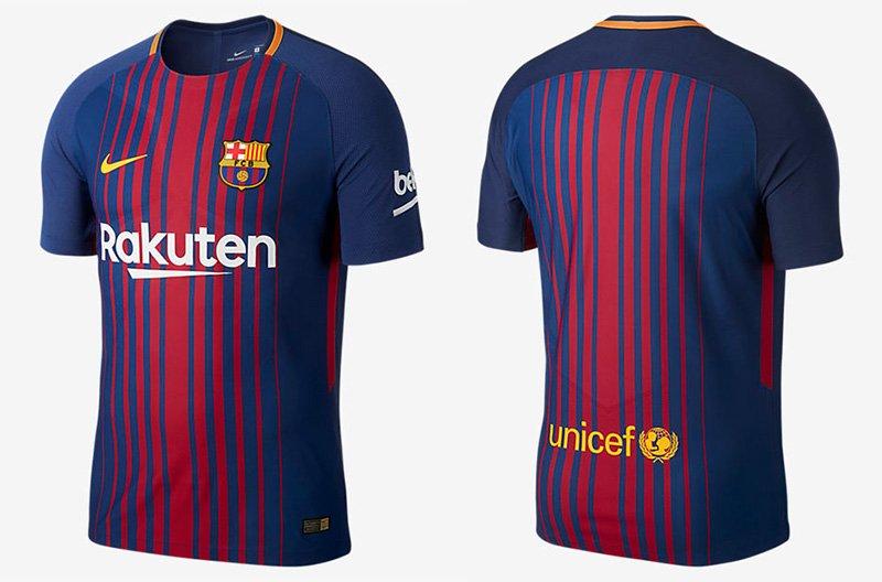 e80849c40a2 Camisas do FC Barcelona 2017 2018 Nike Mantos do Futebol 800x528