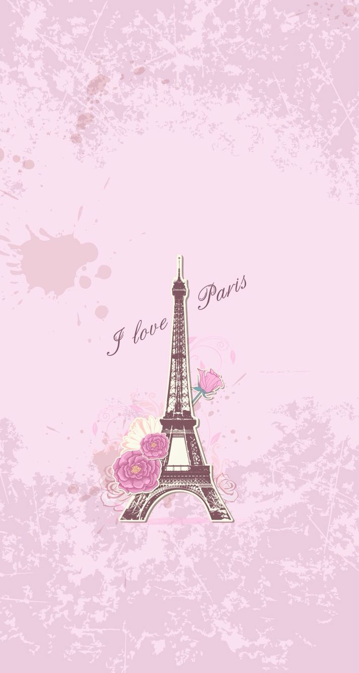 12 ] Wallpaper Paris Pink Love On WallpaperSafari