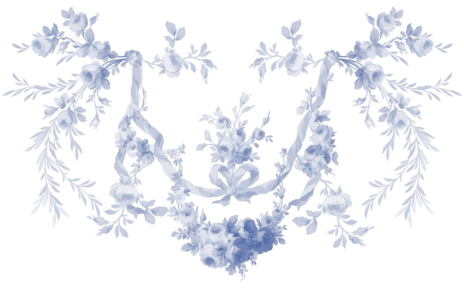 Gentil LilyOake My Newest Blue White Fabric And Wallpaper Designs 1600x1015
