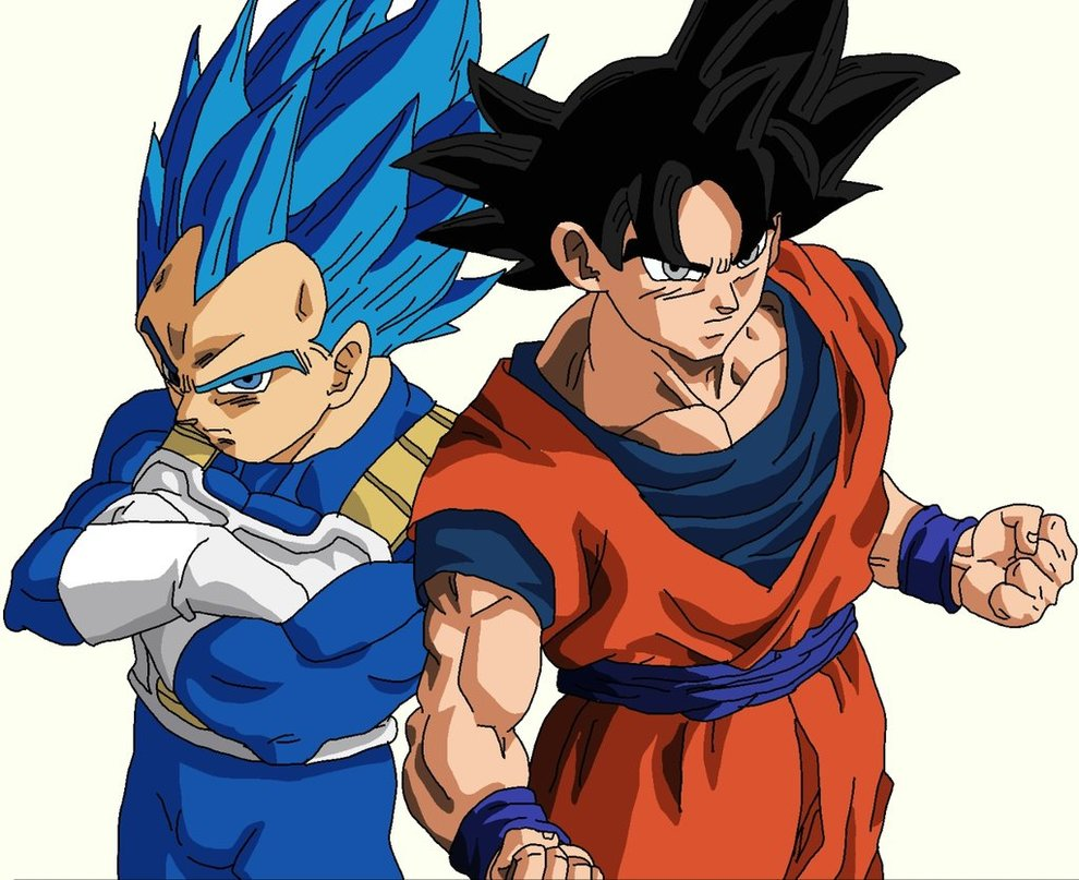 Ultra Instinct Goku and Vegeta New Form by DBZFan2827 on 990x807