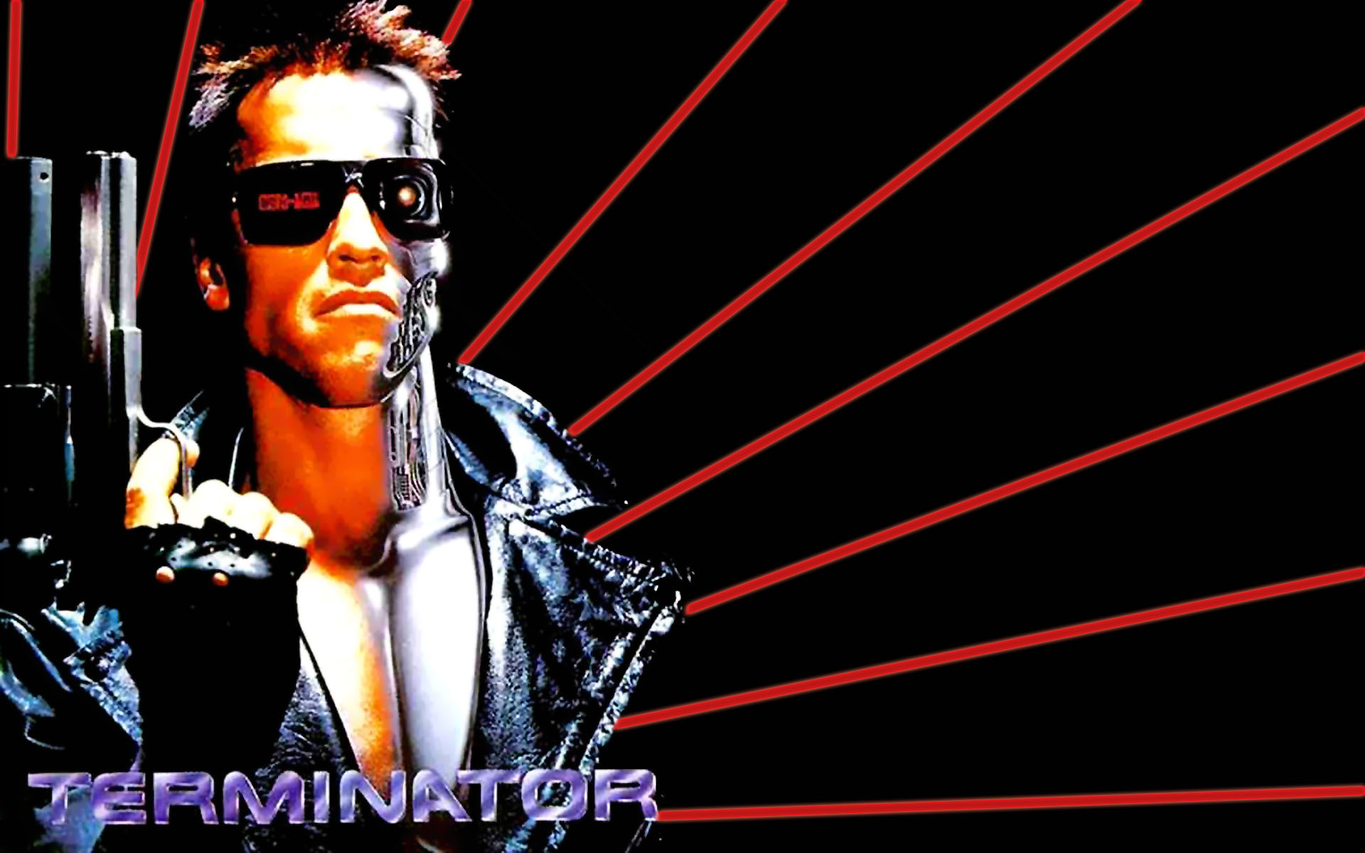Free Download Terminator Wallpaper Sf Wallpaper 1920x1200